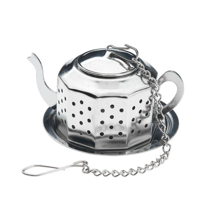 Buy teapot shaped infuser online cup of tea ltd - Tea pots with infuser ...