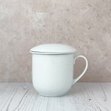 Mug with Strainer and Lid