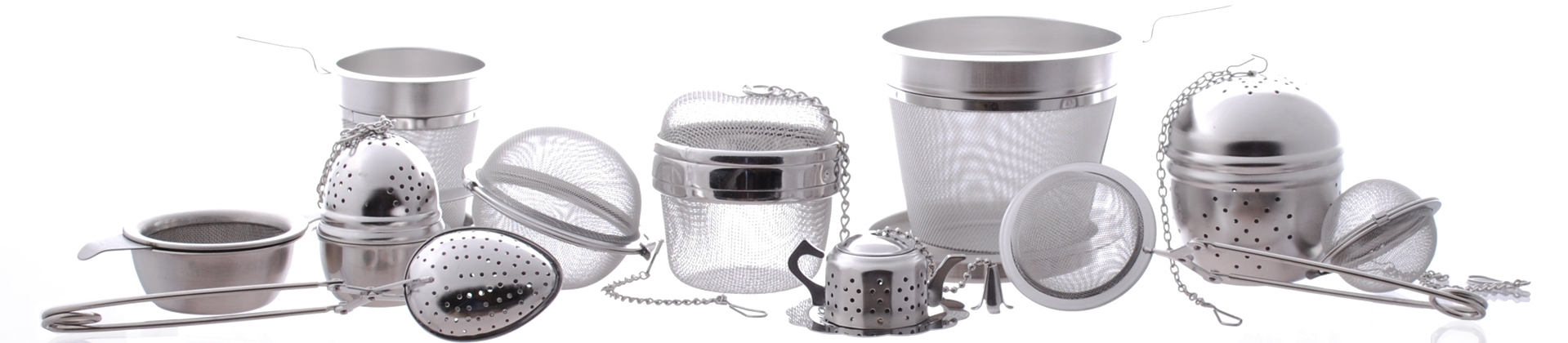 Tea Infusers, Strainers & Filters