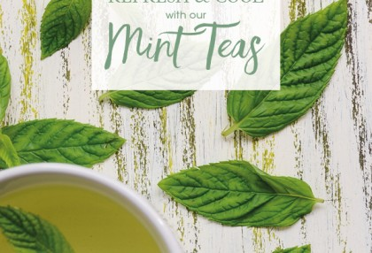 Refresh and Cool with our Mint Teas