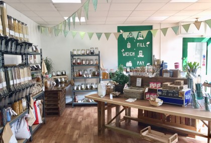 Interview with Bethan Walker, owner of Simply Green Zero Waste in Nailsea