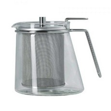 Mono Ellipse Glass Teapot Large 1.3L