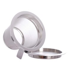 Stainless Steel Filter Basket Large