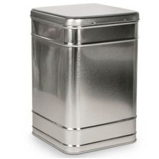 Rectangular Uni Large Tin Hinged Lid 2kg