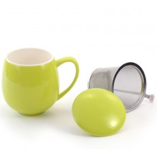 Zaara Herb Tea Mug 0.35L (5 colours)