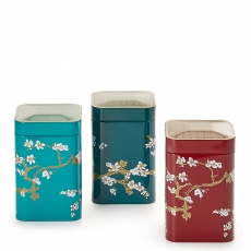 Japan Set of Three Tea Caddies 100g