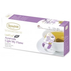 Ronnefeldt LeafCup® Ayurveda Light My Flame Organic Tea Bags