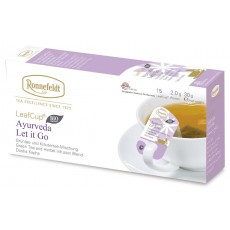 Ronnefeldt LeafCup® Ayurveda Let It Go Organic Tea Bags