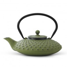 Xilin Cast Iron Teapot Set Green Teapot & Cups 0.8L