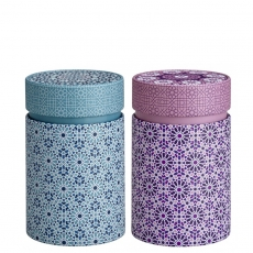Andalusia Set of Two Tea Caddies 150g