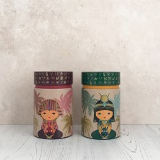 Little Egypt Set of Two Tea Caddies 150g