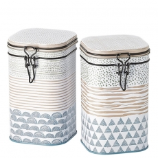 Montana Set of Two Tea Caddies 250g