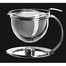 Mono Filio Glass Teapot large 1.5l with integrated warmer