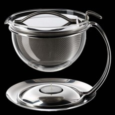 Mono Filio Glass Teapot Small 0.6L with Integrated Warmer