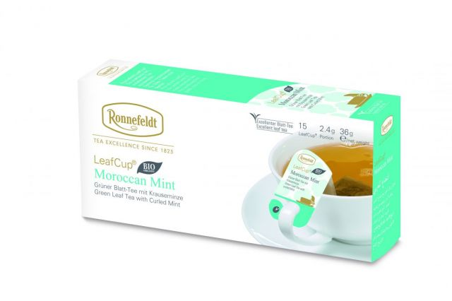 Ronnefeldt LeafCup® Moroccan Mint Organic Tea Bags