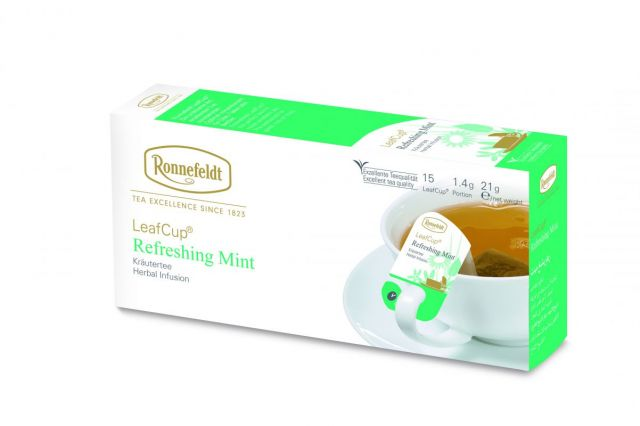 Ronnefeldt LeafCup® Refreshing Mint Tea Bags