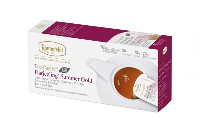 Ronnefeldt Tea-Caddy® Darjeeling Summer Organic Tea Bags