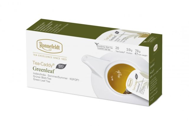 Ronnefeldt Tea-Caddy Greenleaf Organic