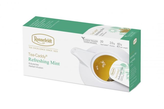 Ronnefeldt Tea-Caddy® Refreshing Mint Tea Bags