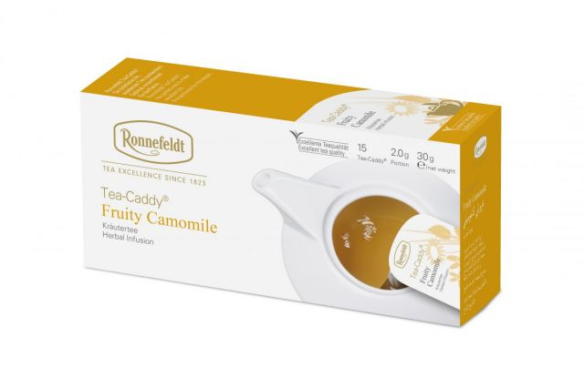 Ronnefeldt Tea-Caddy® Fruity Camomile Tea Bags