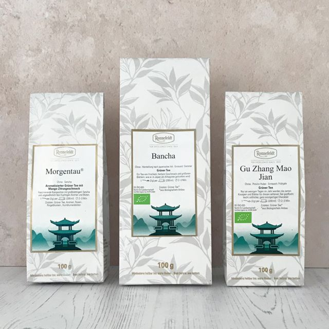 Groovy Green Tea Collection