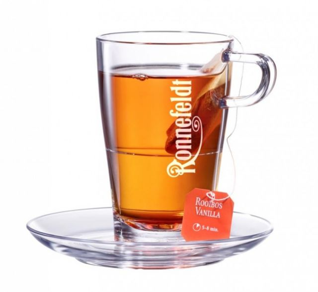 Ronnefeldt Stackable Tea Glass & Saucer Set