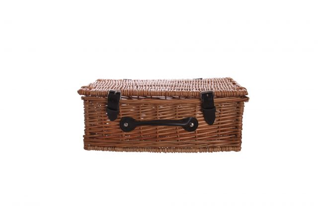 "12"" Wicker Hamper"