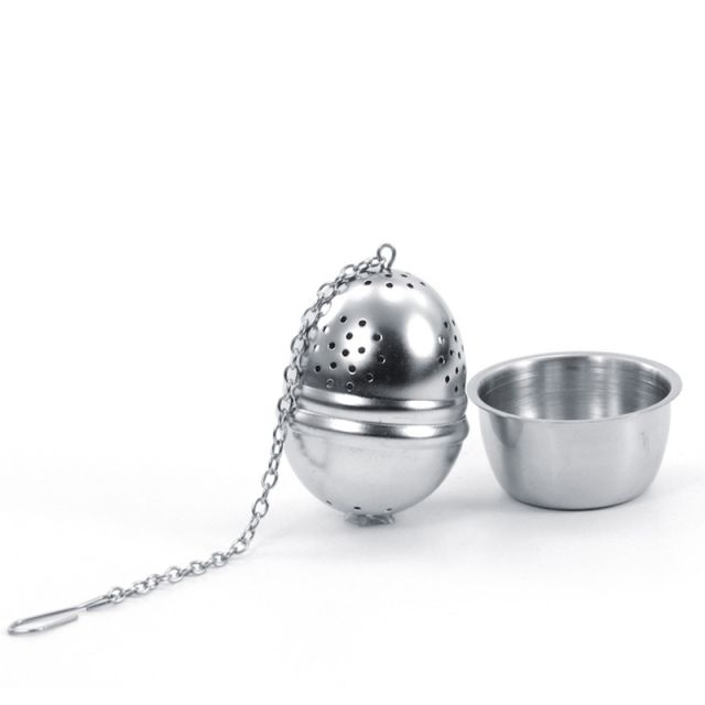 Stainless Steel Tea Egg with Rest 40mm