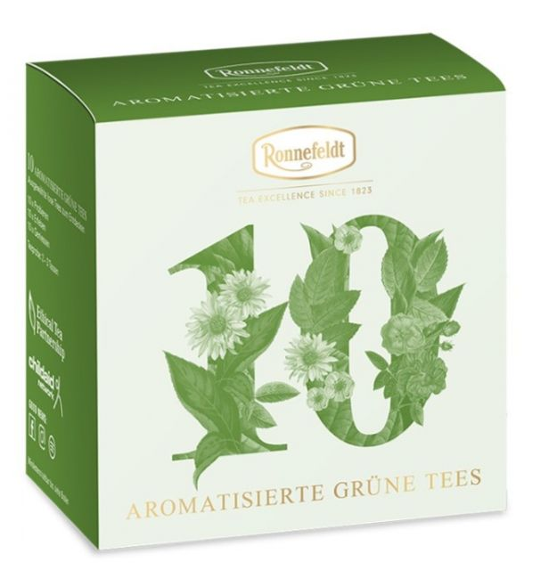 Ronnefeldt Tea Tasting Selection Flavoured Green Teas