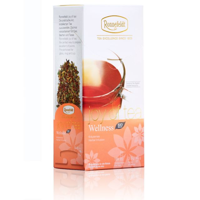 Ronnefeldt Joy of Tea Wellness Organic Tea Bags