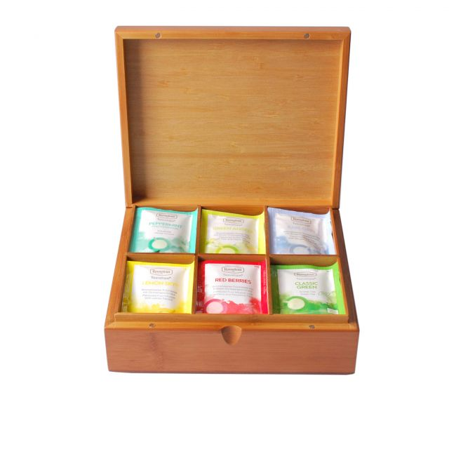 Classic Teabag Collection in Wooden Tea Box