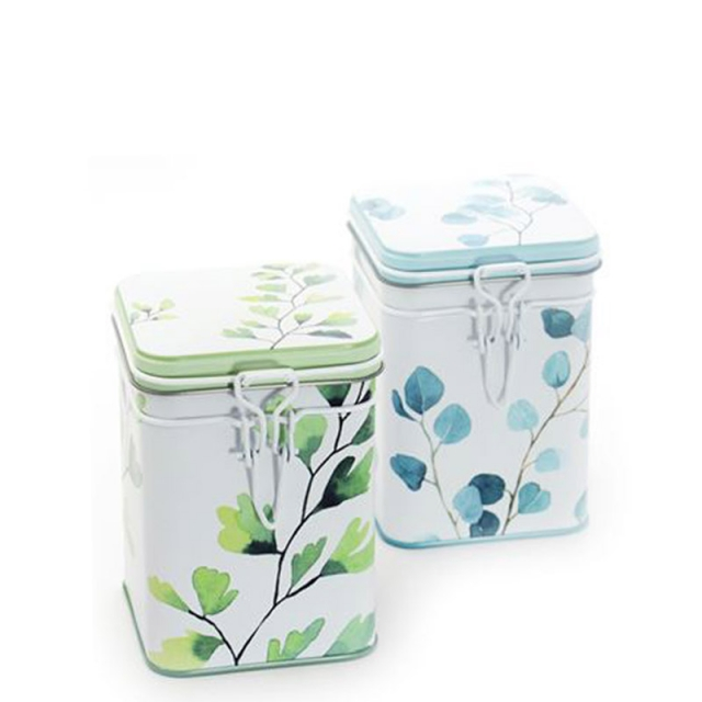 Trees Set of Two Tea Caddies 150g