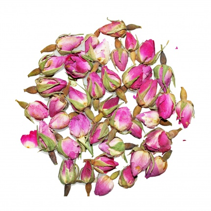 French Rose Rosebud Tea High Tea Co Loose Leaf 50g