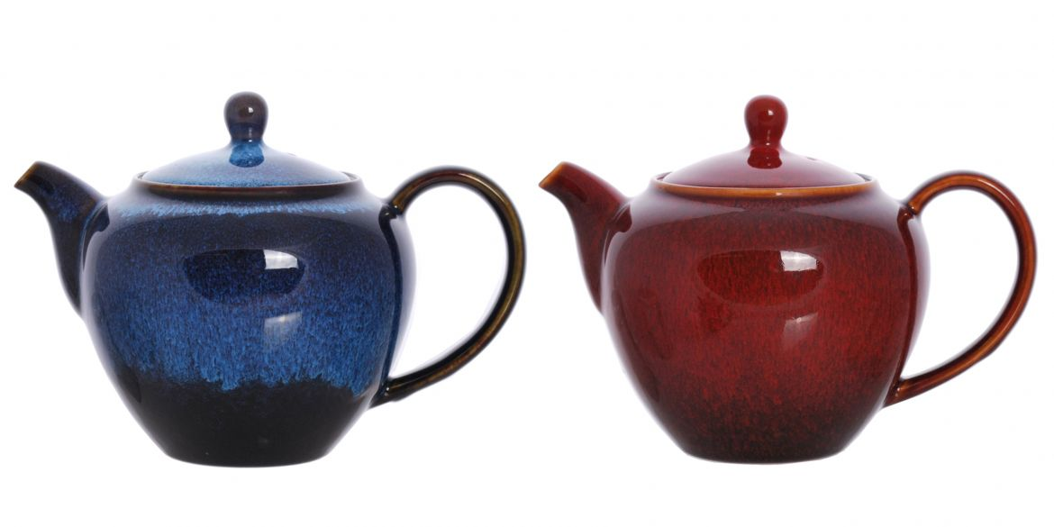 Alexandra and Johanna Teapots