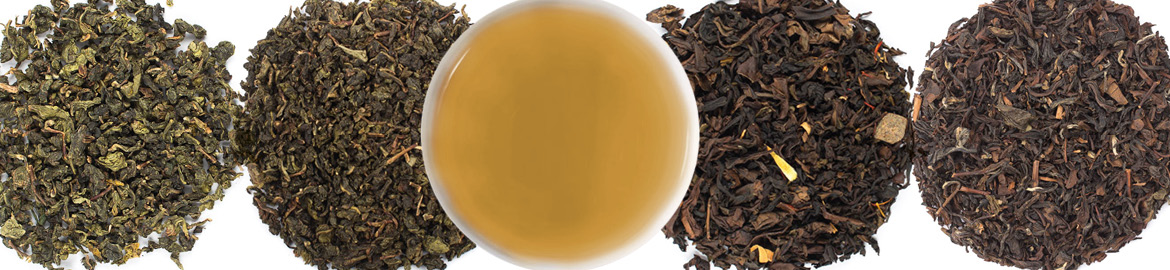 Oolong loose leaf tea variations