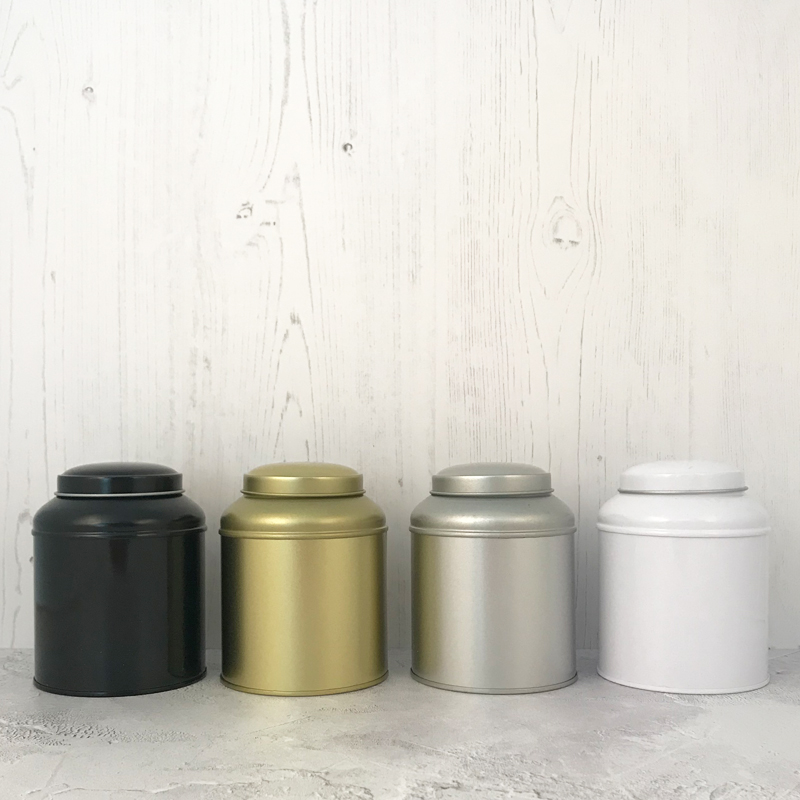 Dome Tea Caddy Double Lid 100g