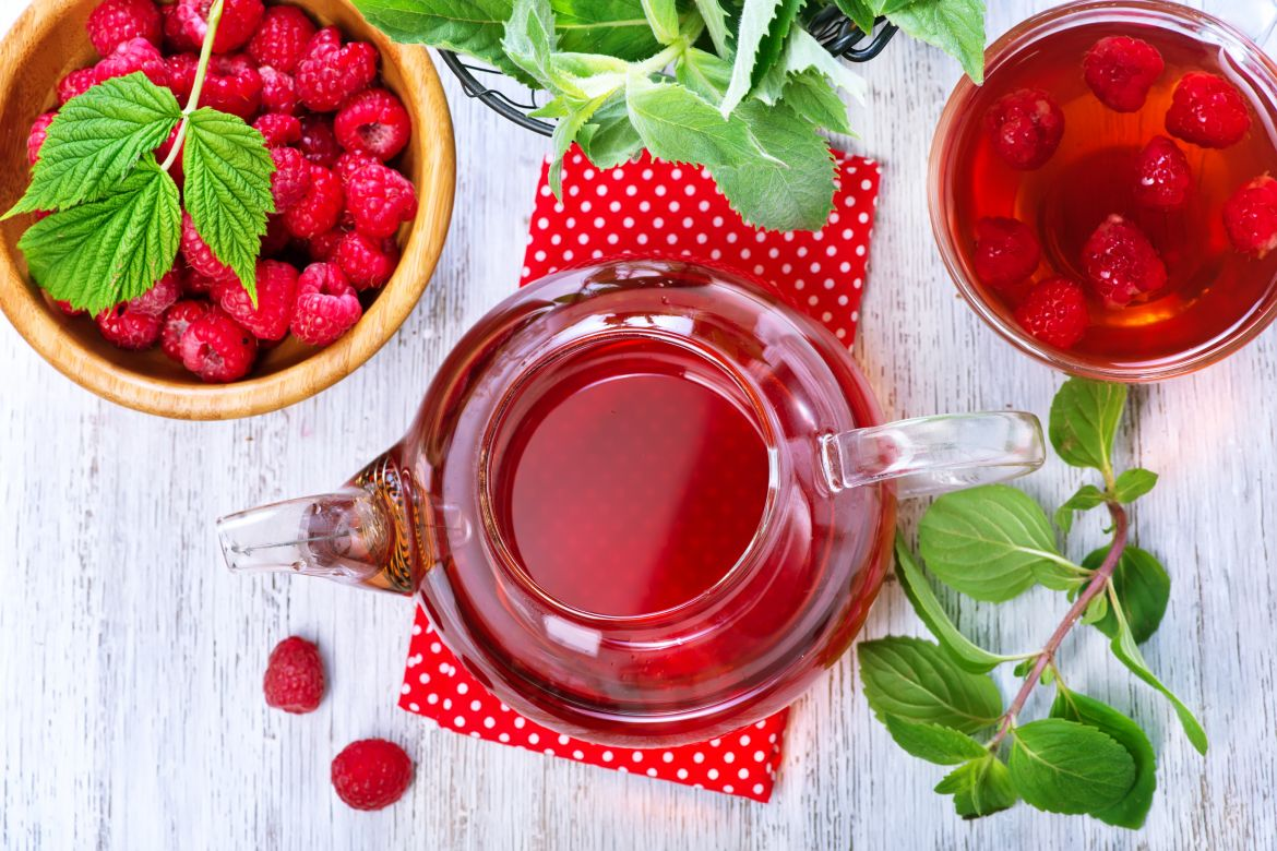 Fruit Teas - Thirst quenching, caffeine free and delicious hot or cold!
