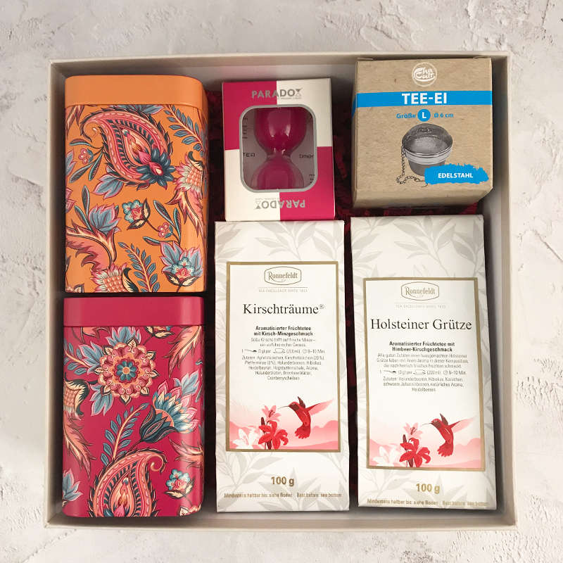 Mother's Day Fruit Tea Gift Box 2