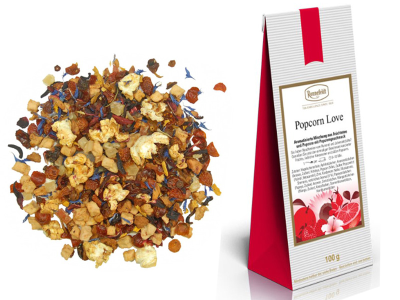Popcorn love loose leaf tea