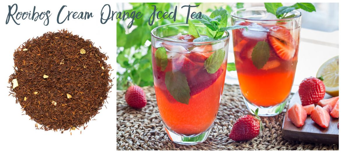 Rooibos Cfeam Ornage Iced Tea
