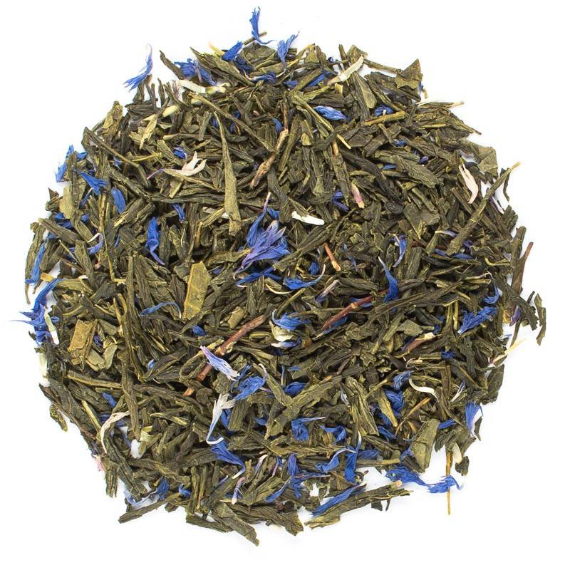Sencha Earl Grey loose leaf tea