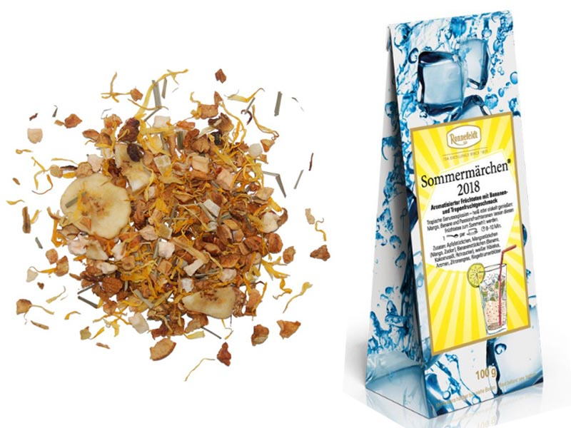 Tropical Banana loose leaf tea