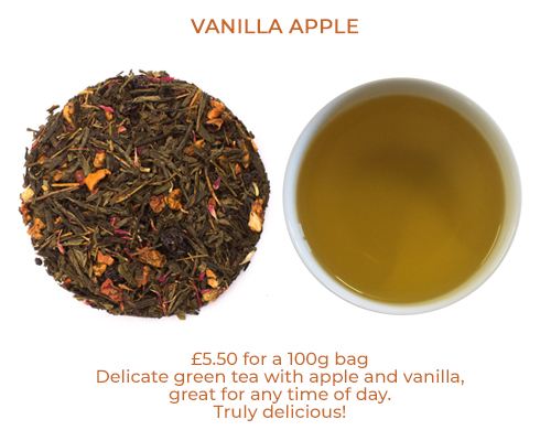 Vanilla Apple loose leaf tea
