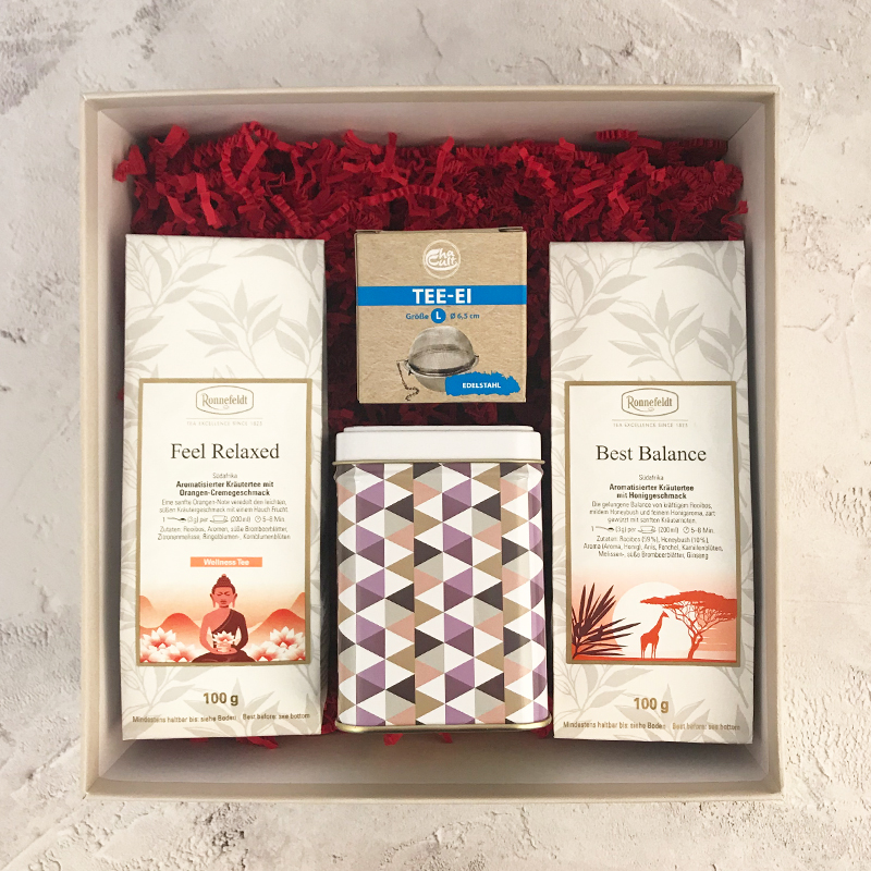 Mother's Day Wellness Tea Gift Box 2